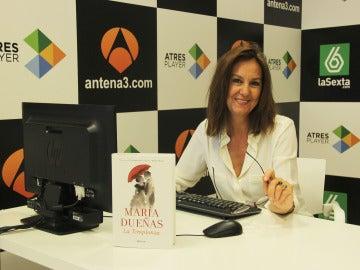 Encuentro digital con María Dueñas