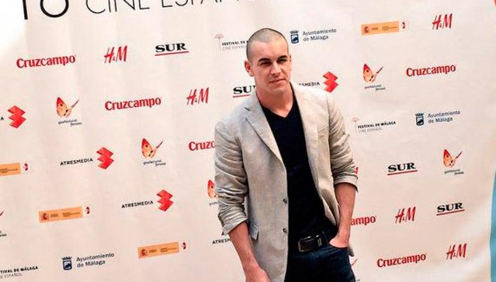 MArio Casas ha desatado la locura en el Festival de Málaga