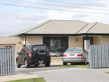 Una casa de los suburbios de Melbourne en Australia