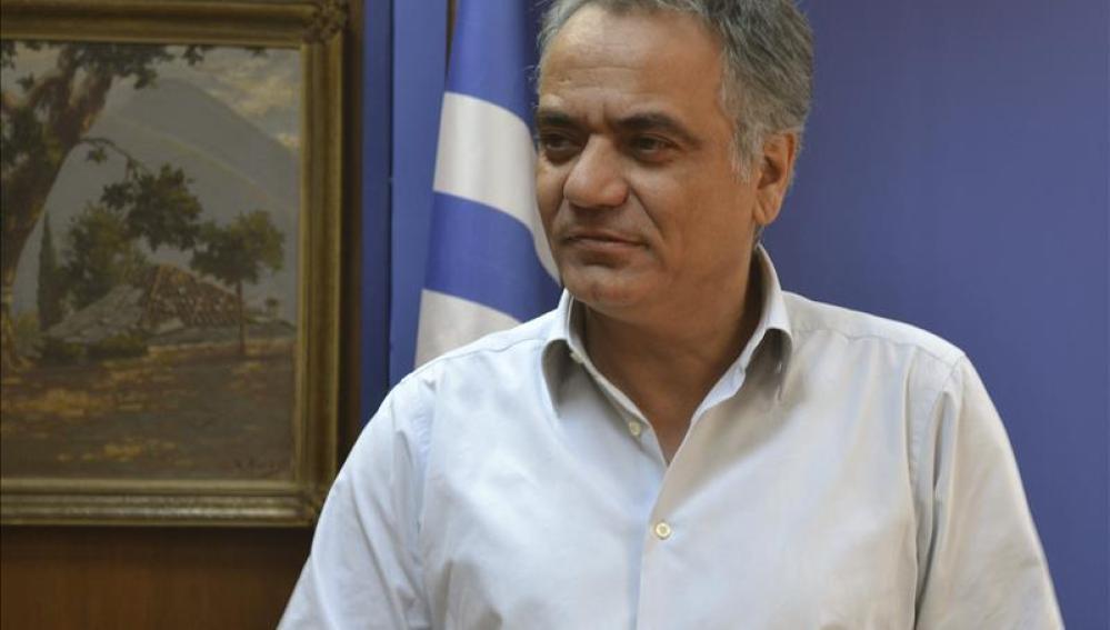 El ministro griego de Trabajo, Panos Skurletis