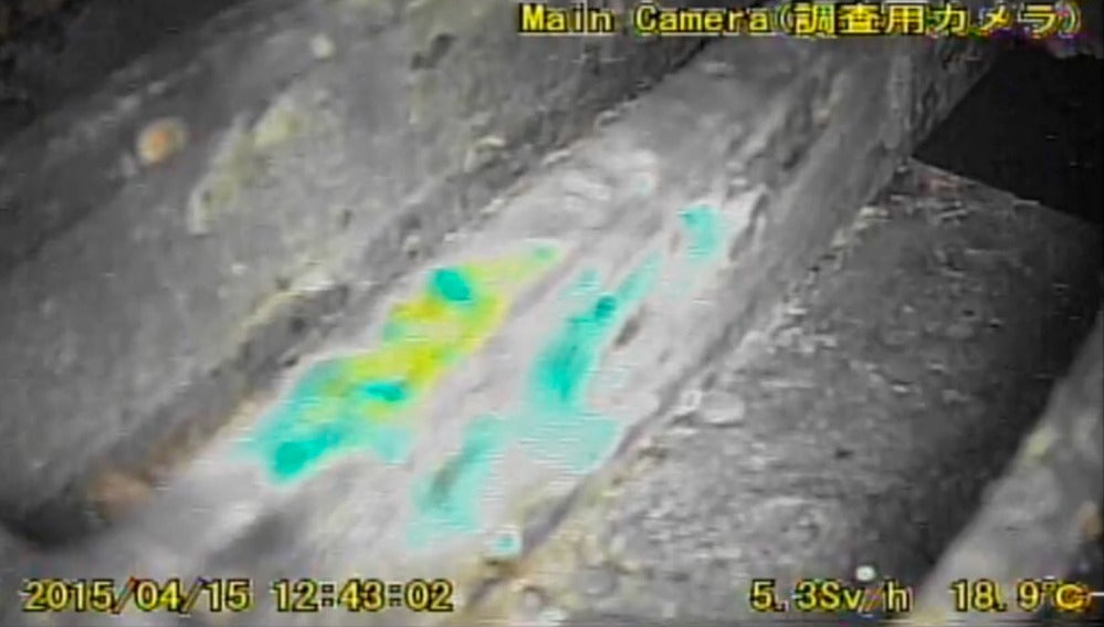 Vídeo del segundo robot que entró al reactor 1 de Fukushima