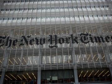 Fachada del periódico 'The New York Times'