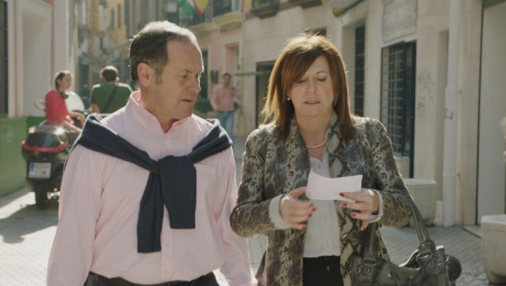 Bego y Sabino viajan a Sevilla para sacar a Maritxu de Andalucía