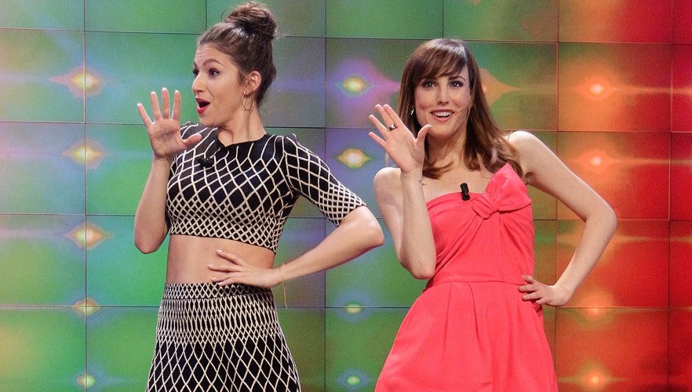 Úrsula Corberó y Natalia de Molina a lo 'Beyoncé' en El Hormiguero 3.0