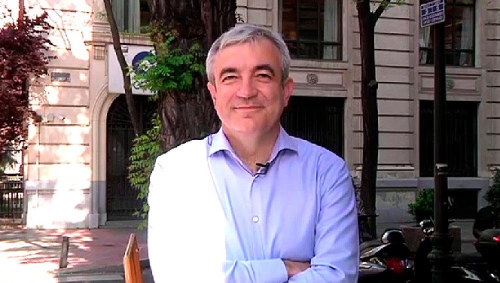 Luis Garicano, coordinador económico de Ciudadanos, en una entrevista en Espejo Público