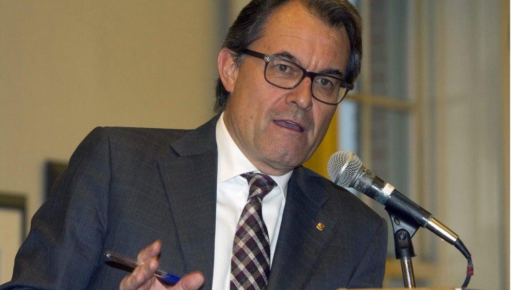 Artur Mas en el discurso por la Diada de Sant Jordi