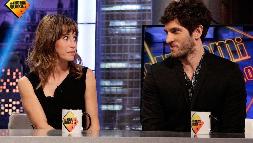 Marta Etura y Quim Gutiérrez en El Hormiguero 3.0