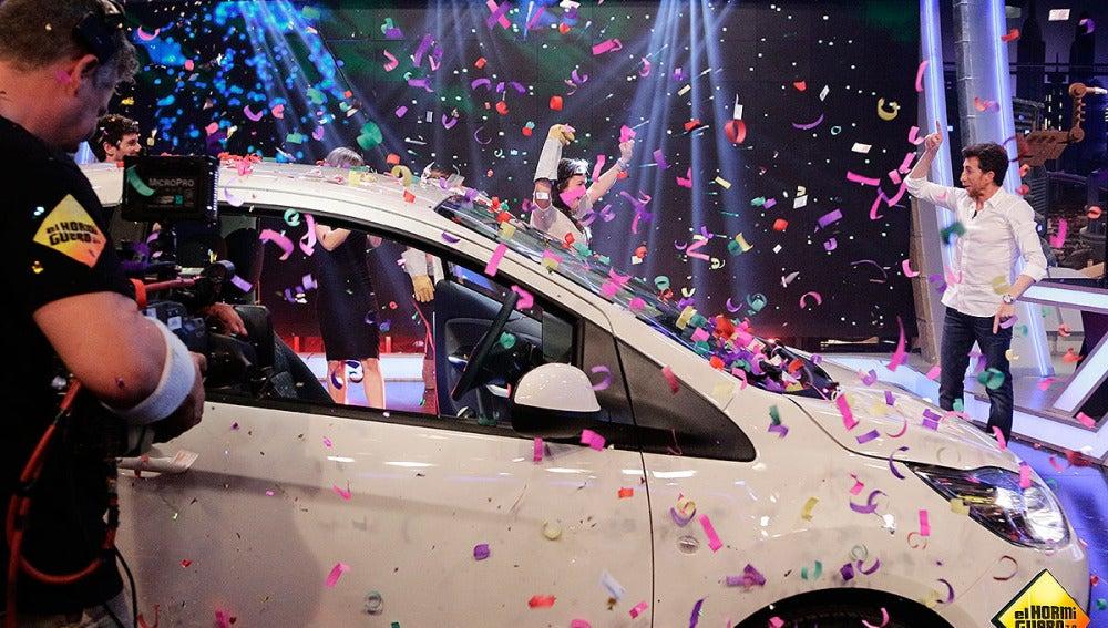 Sofía se lleva el coche de El Hormiguero 3.0