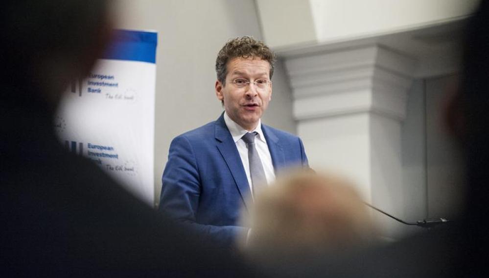El presidente de Eurogroup, Jeroen Dijsselbloem