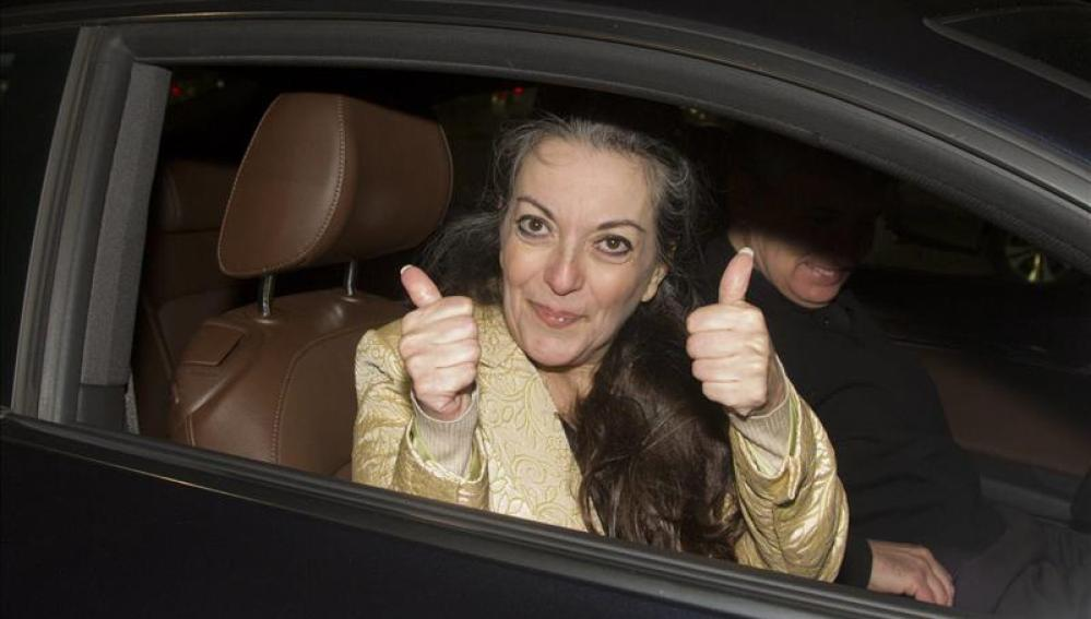 María José Carrascosa, liberada