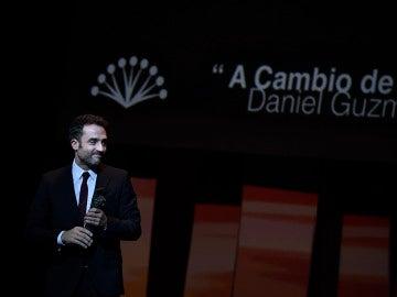 Daniel Guzmán recoge la Biznaga de Oro el Málaga