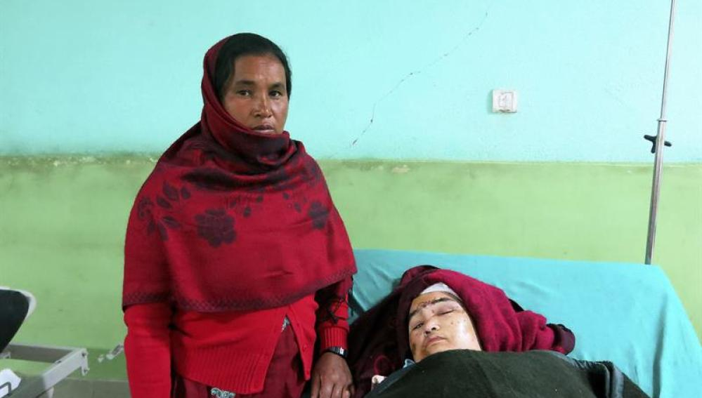 Mujer parapléjica que ha sobrevivido