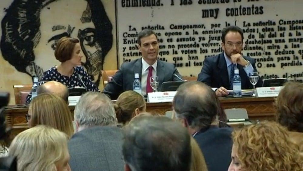 Pedro Sánchez cambiará el Estatuto de los Trabajadores si gana las elecciones