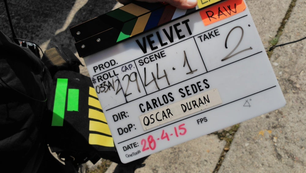 La claqueta de 'Velvet'