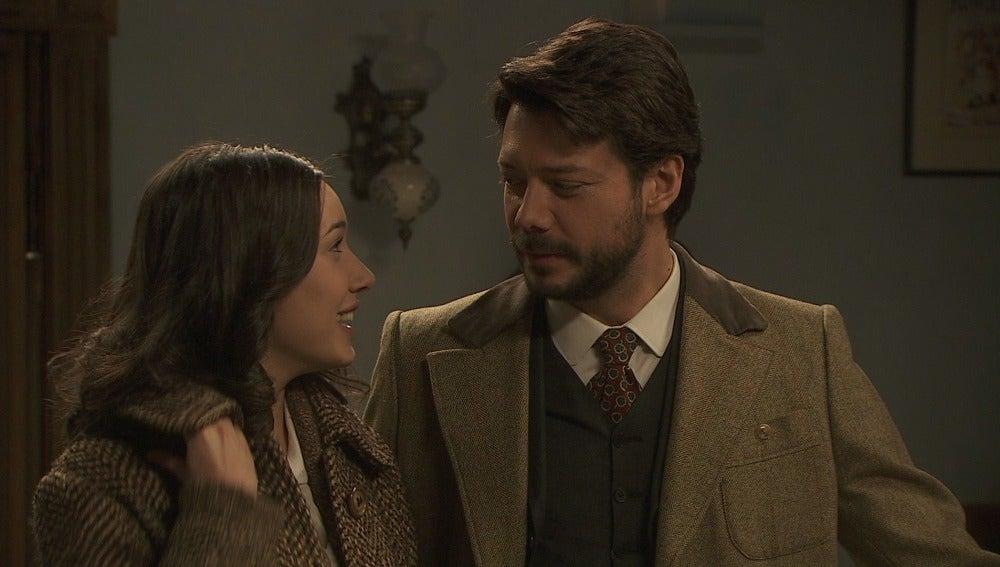 Aurora y Lucas anuncian su boda