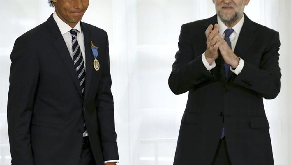 Rafa Nadal recibe la Medalla de Oro al Mérito en el Trabajo
