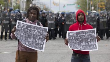 George Floyd: Manifestación por Freddie Gray
