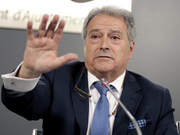 El presidente de la Diputación de Valencia, Alfonso Rus, a quien el PPCV ha suspendido de militancia.