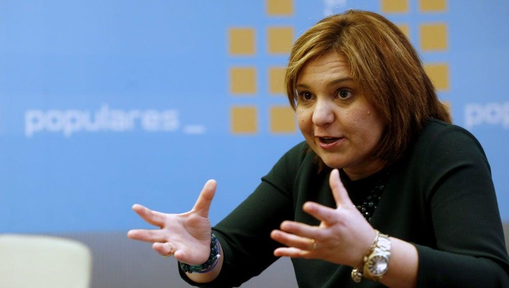 La presidenta del PPCV, Isabel Bonig