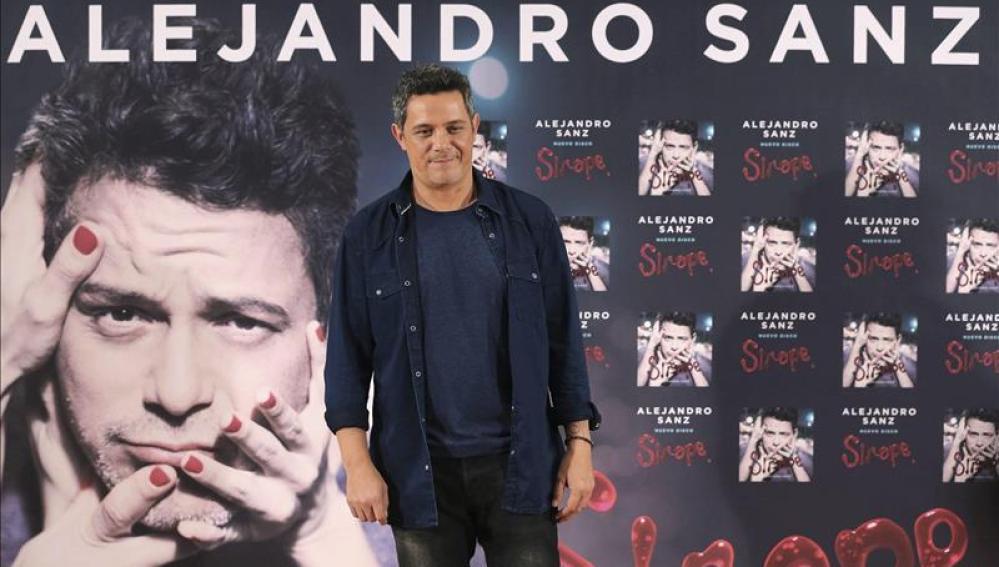Alejandro Sanz presenta su décimo álbum, 'Sirope'
