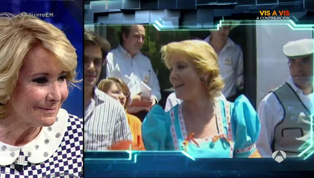 Esperanza Aguirre en El Hormiguero 3.0