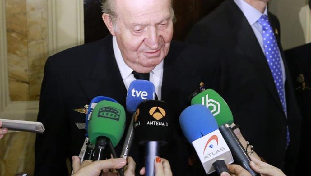El rey Juan Carlos recuerda a Jesús Hermida
