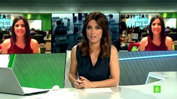 Helena Resano presenta laSexta Noticias 14H