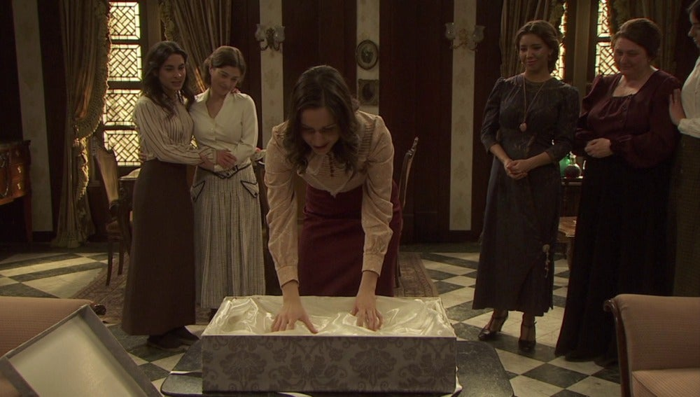 Aurora llevará el vestido de novia de su madre