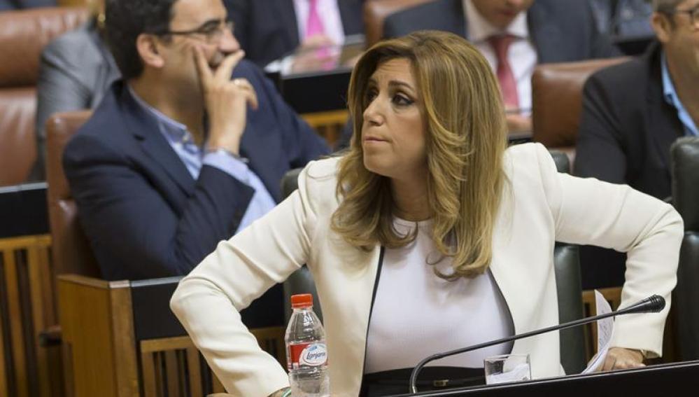 Susana Díaz no logra la investidura en primera votación al obtener sólo el apoyo del PSOE