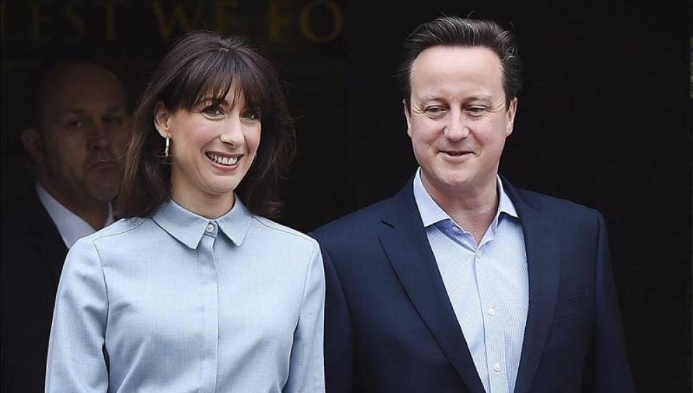 David Cameron tras la votación