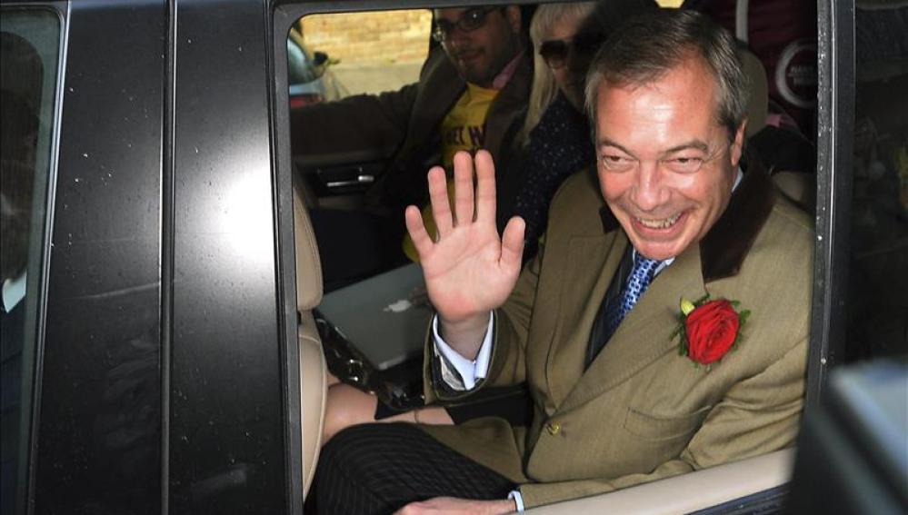 Nigel Farage, líder de UKIP