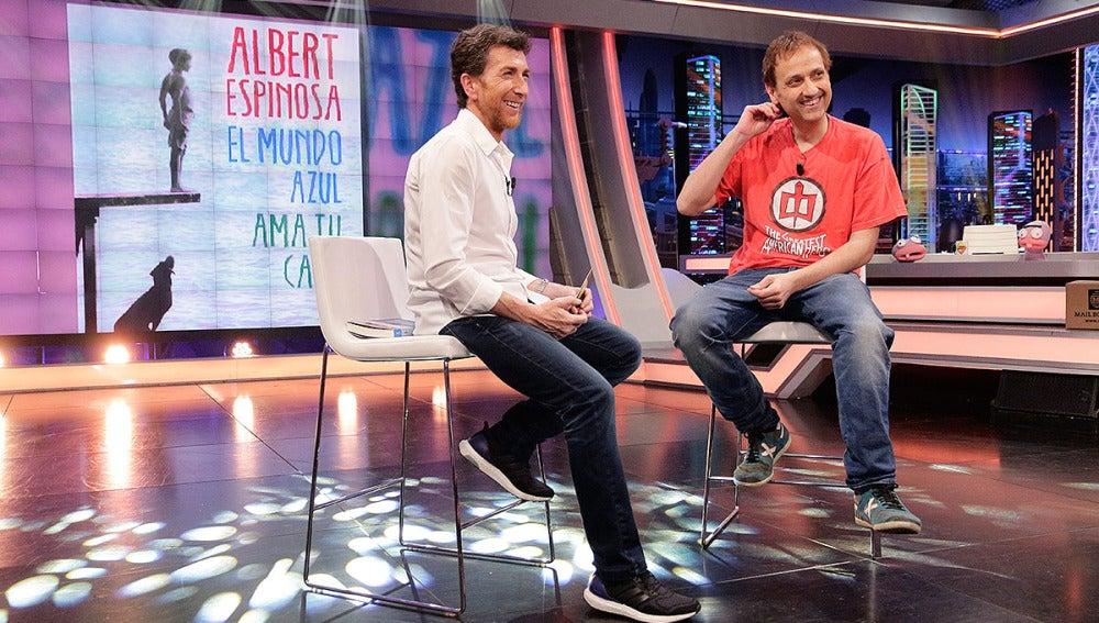 Albert Espinosa en El Hormiguero 3.0