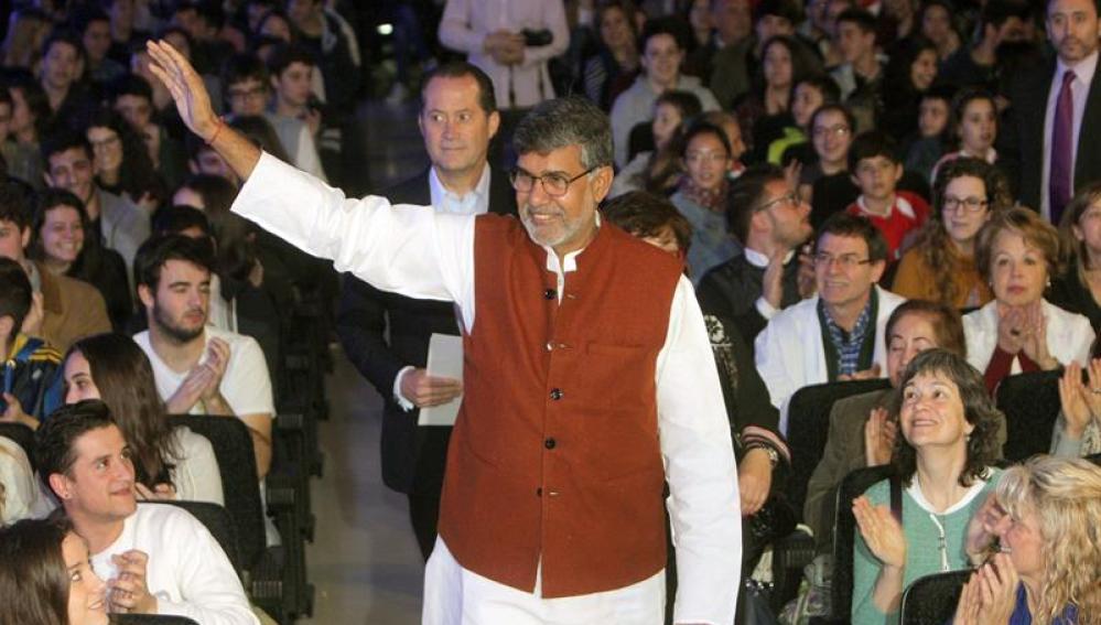 El Nobel de la Paz 2014 Kailash Satyarthi, firme defensor de los derechos de la infancia