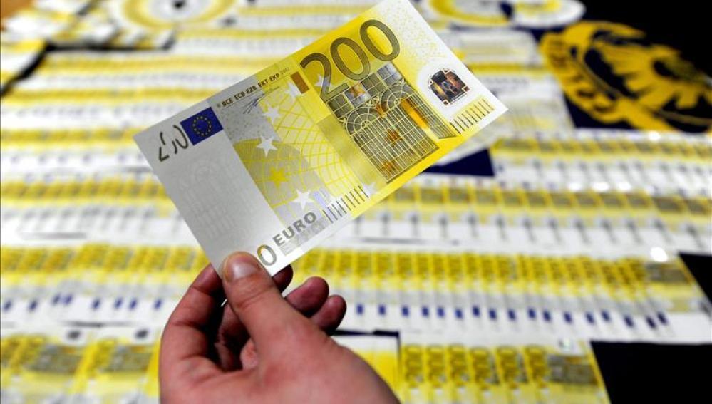 La mayor parte de los billetes de euro falsos procede del sur de Italia