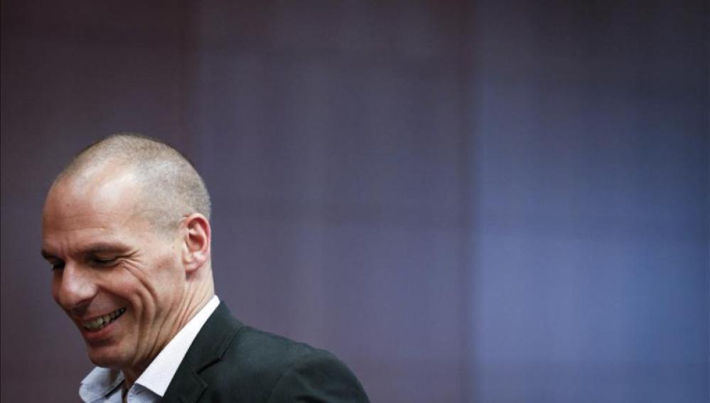 Ministro de Finanzas griego, Yanis Varufakis