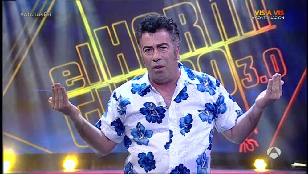 Agustín Jiménez en 'El Hormiguero'
