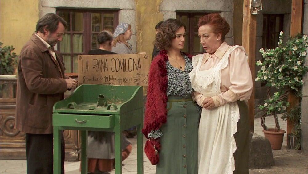 Dolores no quiere que Hipólito vuelva a enamorarse