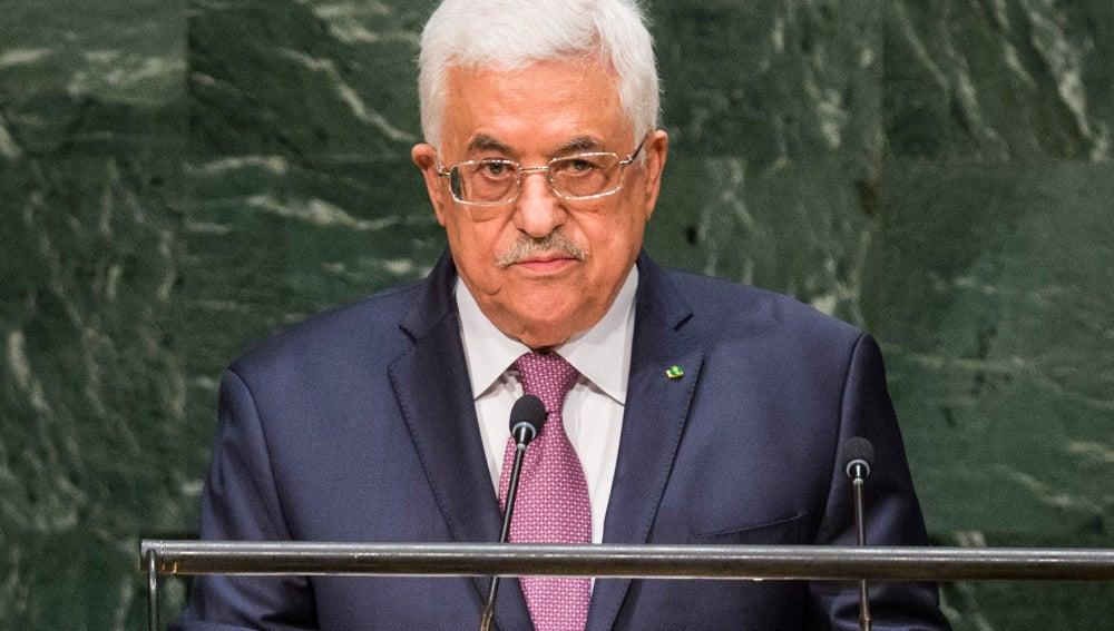 El presidente de la Autoridad Nacional Palestina, Mahmud Abás