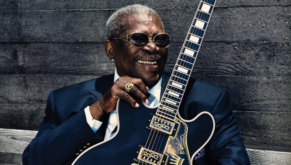 B.B. King, el rey del blues.