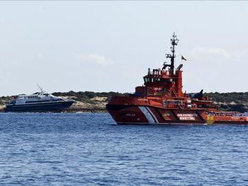 Barco de Salvamento Marítimo en Formentera