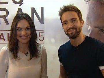 Mónica Carrillo y Pablo Alborán