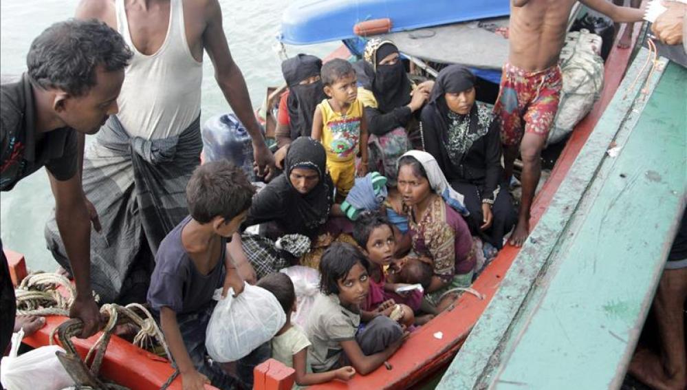 Malasia e Indonesia acogerán temporalmente a los 7.000 inmigrantes