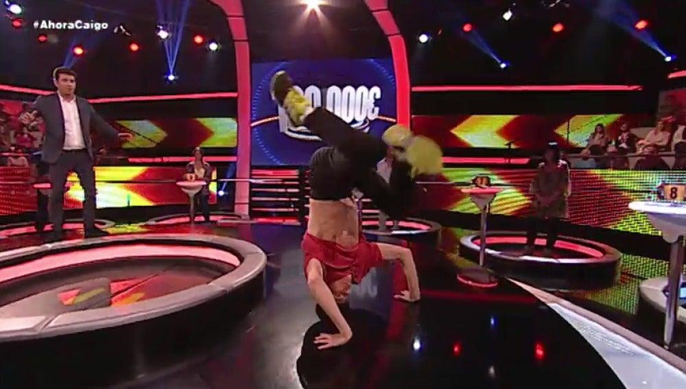 Arturo contra Alejandro: batalla de breakdance