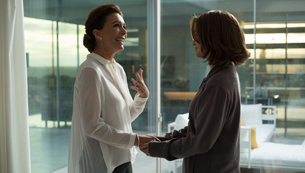 Luisa y María se llevan cada vez mejor
