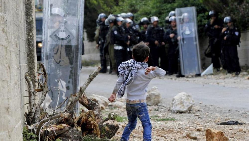 Enfrentamientos en Nablus hace unos días