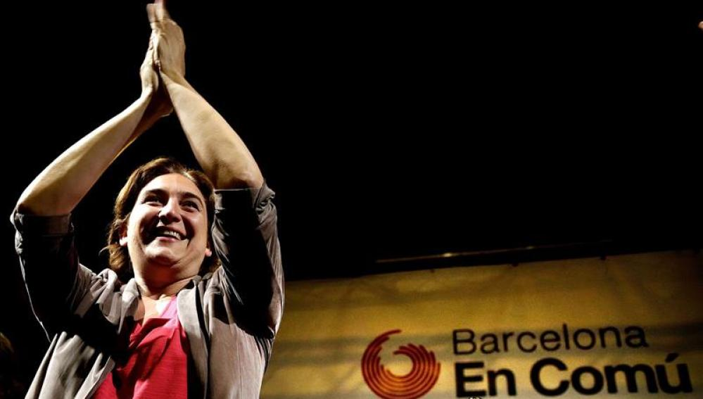 Ada Colau en Barcelona