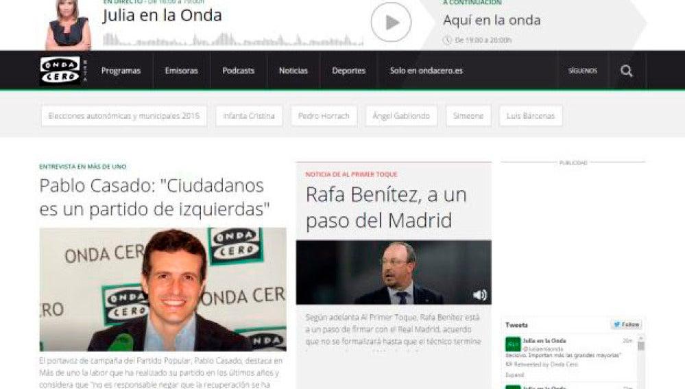 Nueva imagen de Ondacero.es