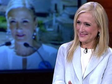 Cristina Cifuentes, en 'El Intermedio'
