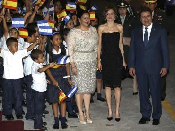 La reina Letizia en Honduras