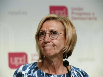 Rosa Díez, líder de UPyD.